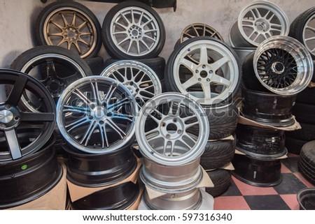 wheel, car wheel, car wheel and brake repair #597316340