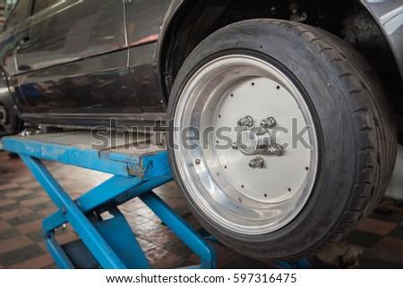 wheel, car wheel, car wheel and brake repair #597316475