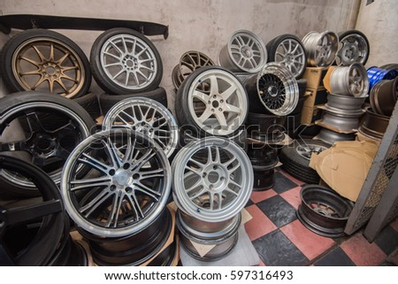 wheel, car wheel, car wheel and brake repair #597316493
