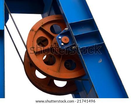 Wheel conducting in movement