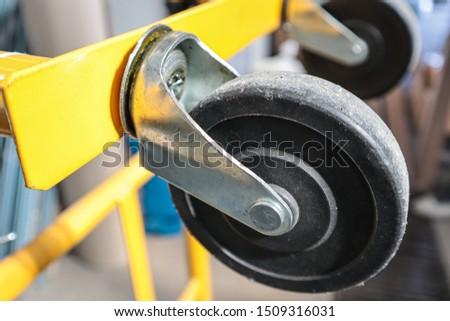Wheel Heavy Material Transport Cart