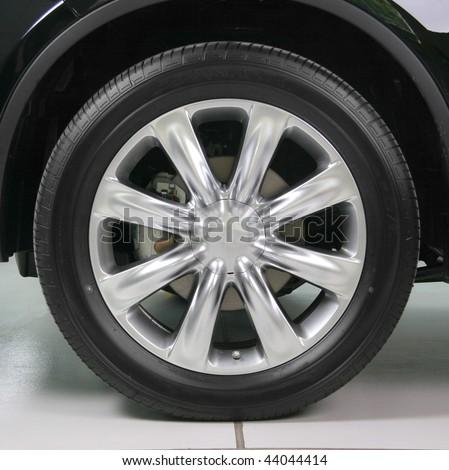 Wheel with steel rim