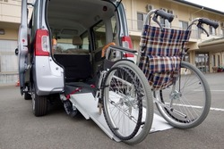 Wheelchair ride image