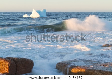 Where Icebergs go to die... Iceberg Alley, Newfoundland and Labrador.