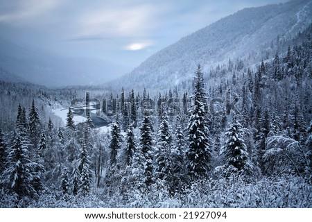 Where Santa Claus Must Live, Kenai Peninsula, Alaska