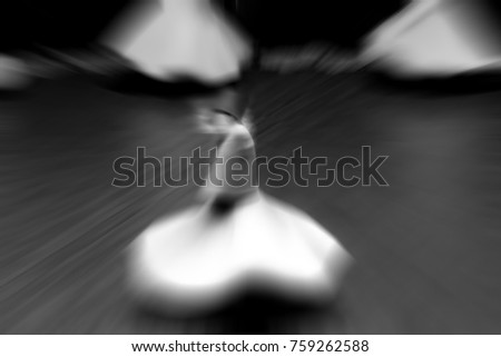 Whirling Dervish sufi religious dance #759262588