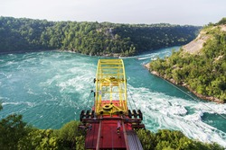 Whirlpool rapids, Whirlpool Aero Car, Niagara river, view from Canadian side
