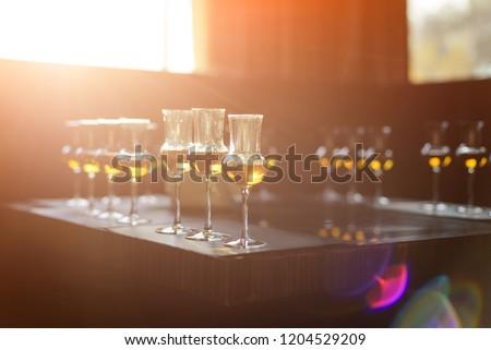Whiskey tasting, whiskey glass #1204529209