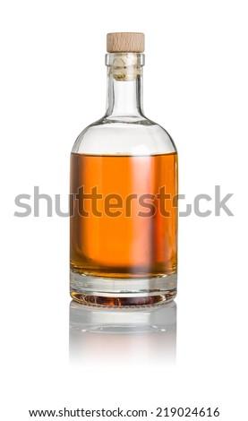 Whisky bottle on a white background #219024616