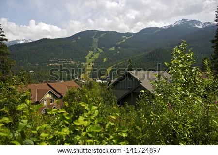 Whistler, British Columbia, Canada. Whistler Mountain Landscape. Canada Photo Collection.