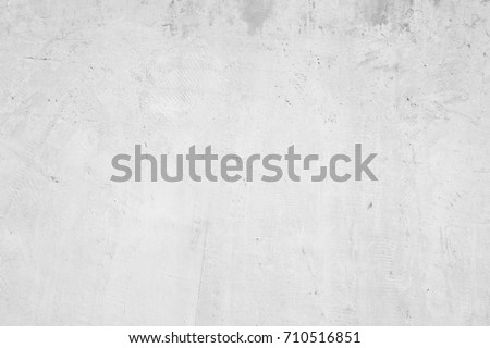White abstract background texture concrete wall - Shutterstock ID 710516851