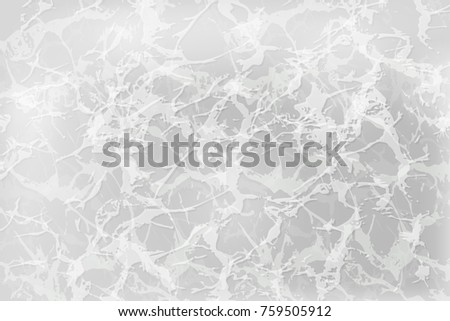 White abstract background with texture of marble, natural stone, textured plaster. For use in design Wallpaper, patterns, layouts, banners and decoration graphic projects, covers and presentations.