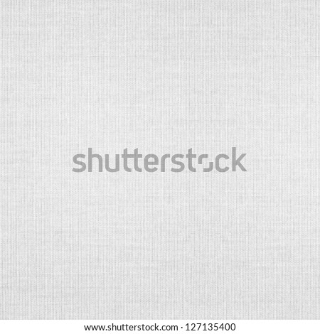 White Abstract Canvas Background Or Grid Pattern Linen Texture