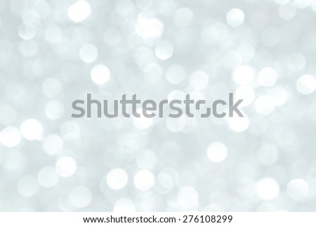 White Abstract Defocused Background