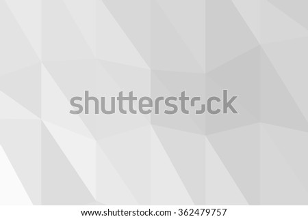 White abstract polygon background. #362479757