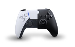 White and black Next Gen controllers