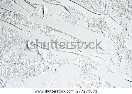 stock photo white and grey oil abstract background painting 277273871 - Каталог — Фотообои «Текстуры»
