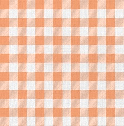 white and orange gingham texture background pattern