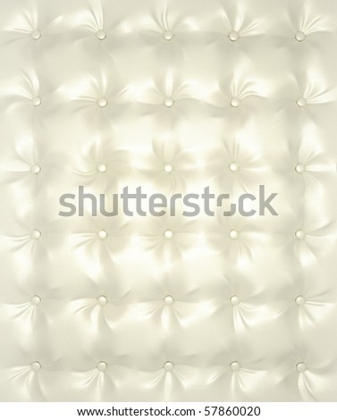 White and silver Luxury buttoned leather pattern useful as background. Extralarge resolution