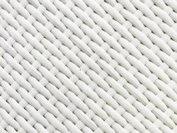 White Artificial Rattan Background