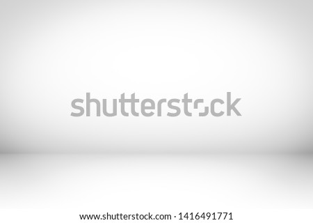 White Background abstract. Studio light backdrop.