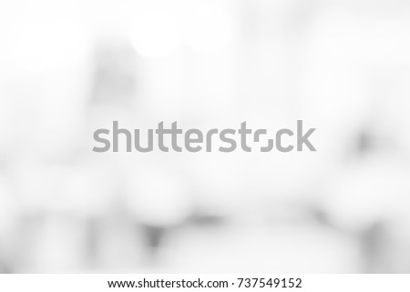 White background blur abstract bright grey texture, and light shine with space scene outside or blank modern room office city building, and soft color hallway interior design empty blurred business.