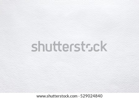White background of watercolor paper Photo stock ©