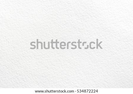 White background of watercolor paper #534872224