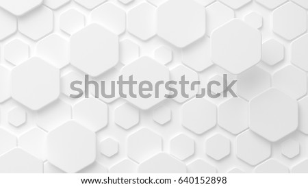 White background texture 3D.