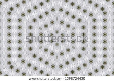 White background with geometric shapes  #1398724430