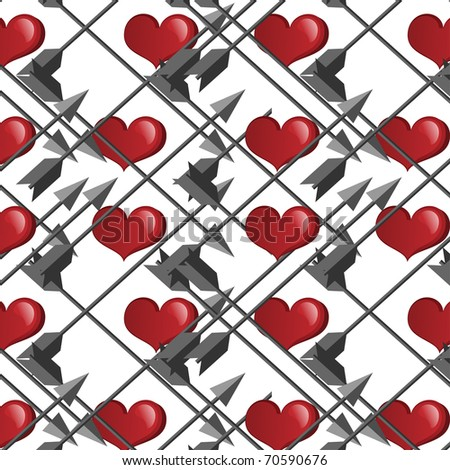 clipart heart with arrow. Day clip art image description
