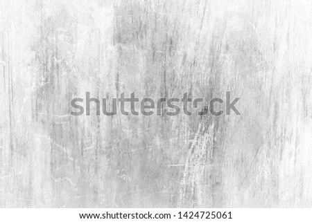 White background with scratches and dust. Detail of scratched surface.