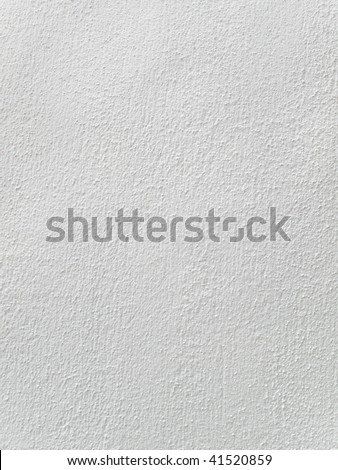White background with texture taken from an exterior building wall