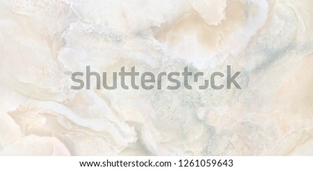 White base onyx marble with cloud effect natural marble design texture #1261059643