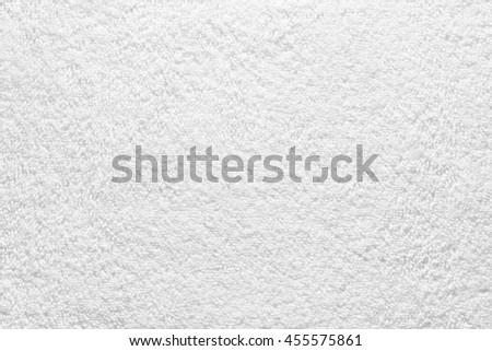 White Bath Towel Background