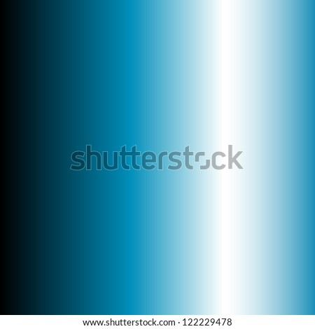 White beam on black and blue background - abstract - stock photo