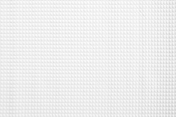 White Bed pad texture background, soft pad pattern