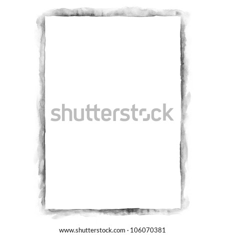 White blank template paper sheet for presentation corporate identity ...