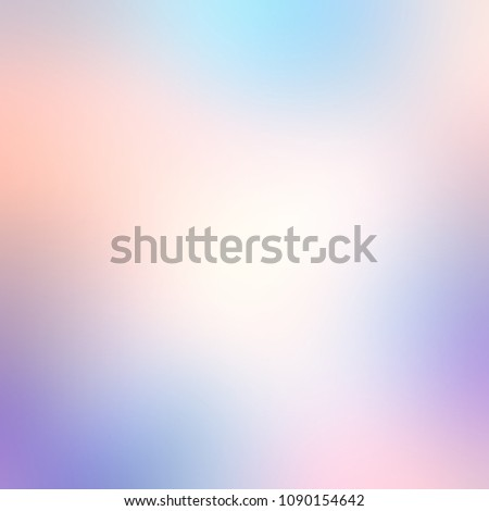 White blue pink violet spotted watercolor abstract texture. Empty background. Light blurred illustration. Gradient defocused template.