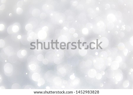 white blur abstract background. bokeh christmas blurred beautiful shiny Christmas lights, bokeh background