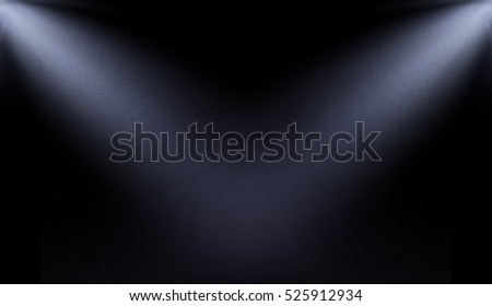 white, blur spotlight effect on black background #525912934