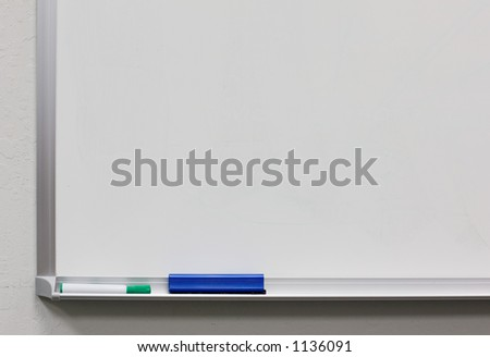 white board water base marker pen and eraser