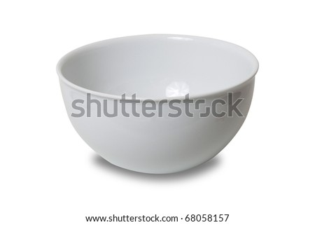 White bowl of china