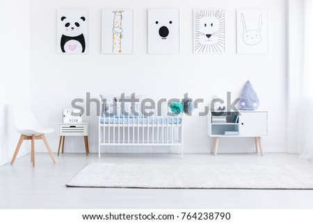 boy in crib images