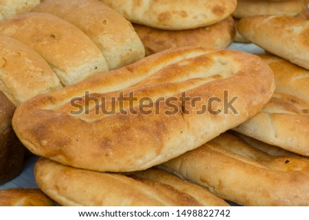 white bread in various forms and various roasting #1498822742