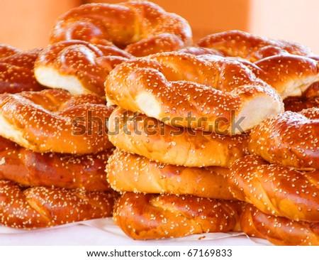 white bread. warm tones.