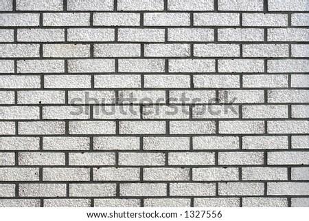 White brick texture background.