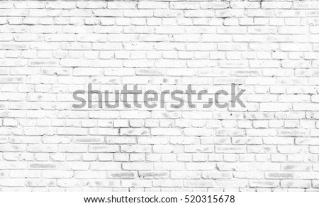 Shutterstock white brick wall background in rural room,