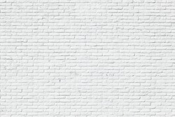 White brick wall backgrounds, brick room, interior texture, wall background.