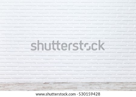 Shutterstock White brick wall for background or texture